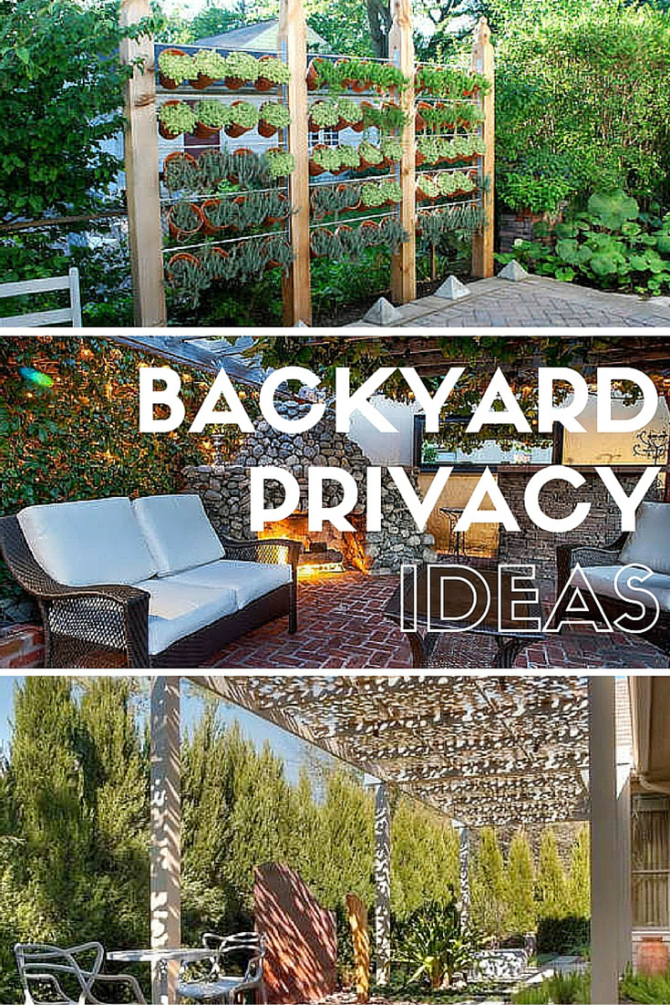 How To Get Privacy In Backyard 11 ideas for better backyard privacy | porches/decks: bob vila's