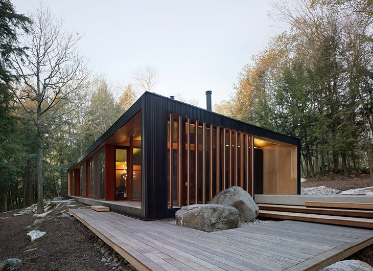 Clear Lake Cottage, MacLennan Jaunkalns Miller Architects, Photographer:  Ben Rahn/A
