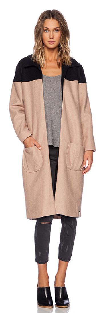 Nude beige coat