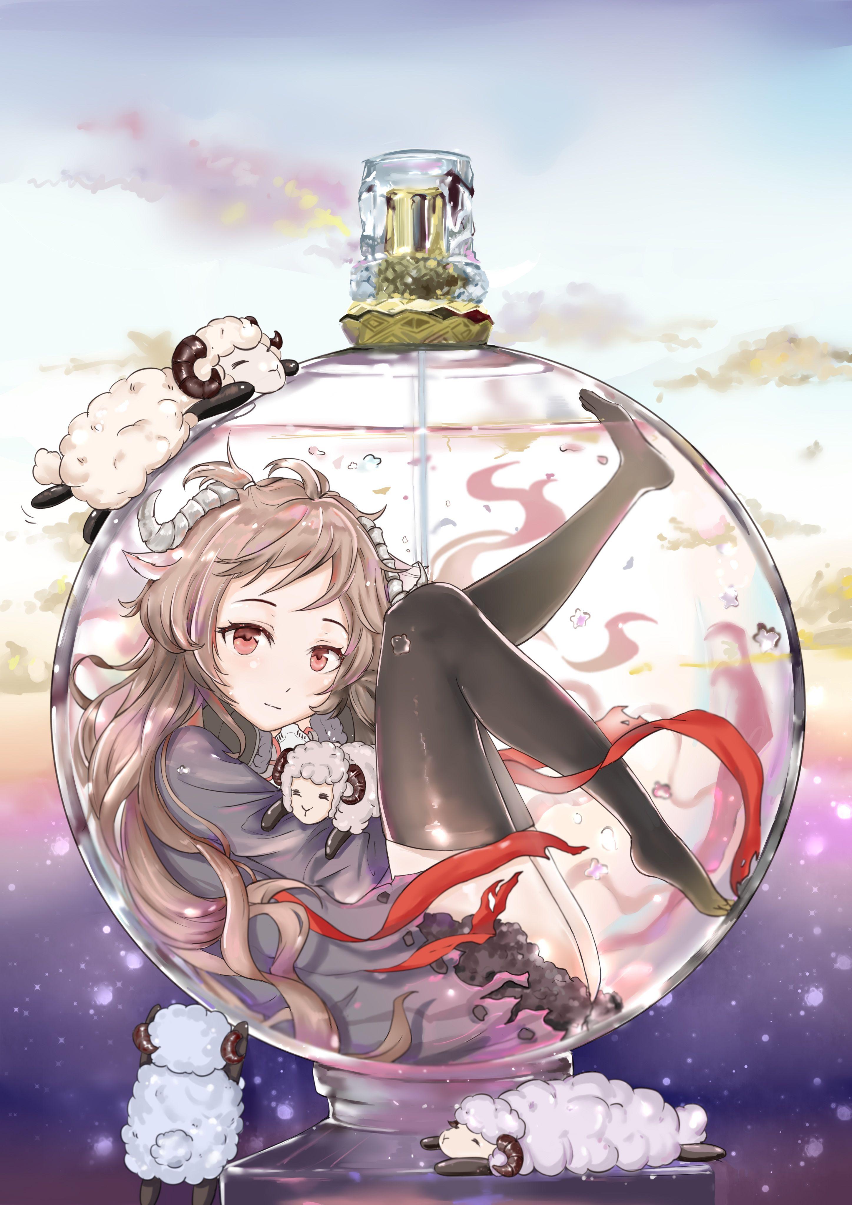 Ghim của Doan trên ガラスの中 ANIME Anime, Nghệ thuật thủy