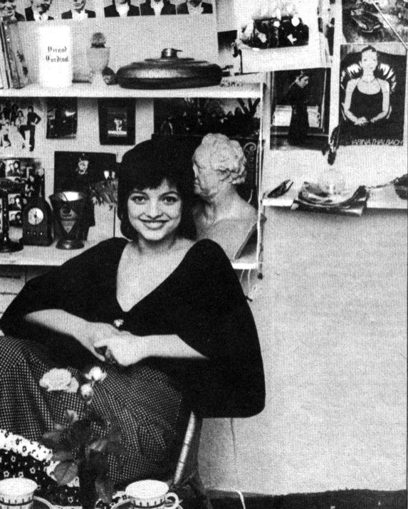 Nina Hagen-I Think This Is My Favorite Photo Of Her. Sweet