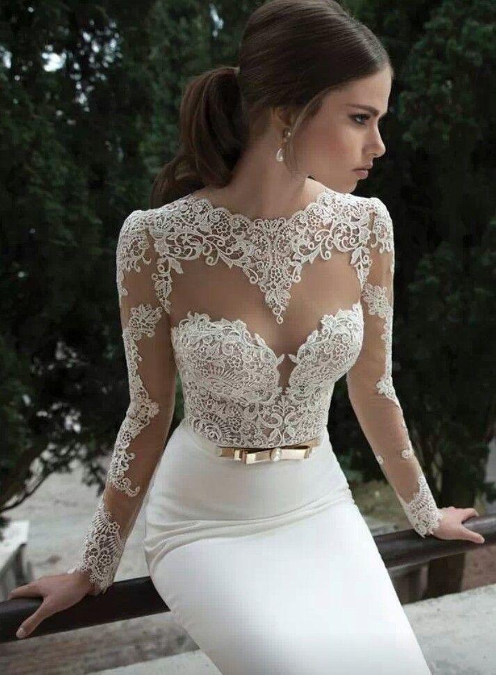 Bertha wedding dress... Gorgeous