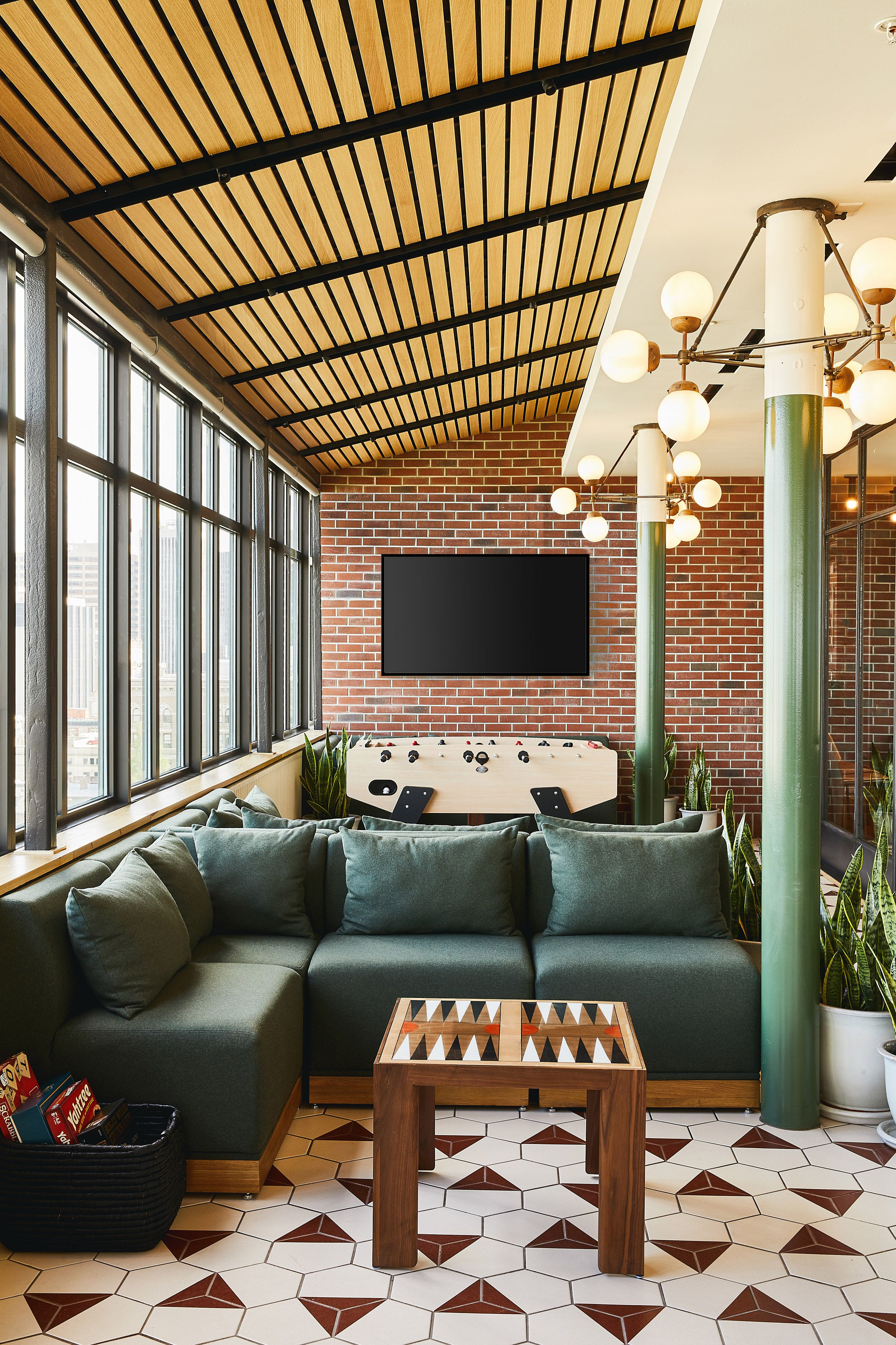 Boutique Hotel Revival Opens In Old Baltimore Mansion Interior