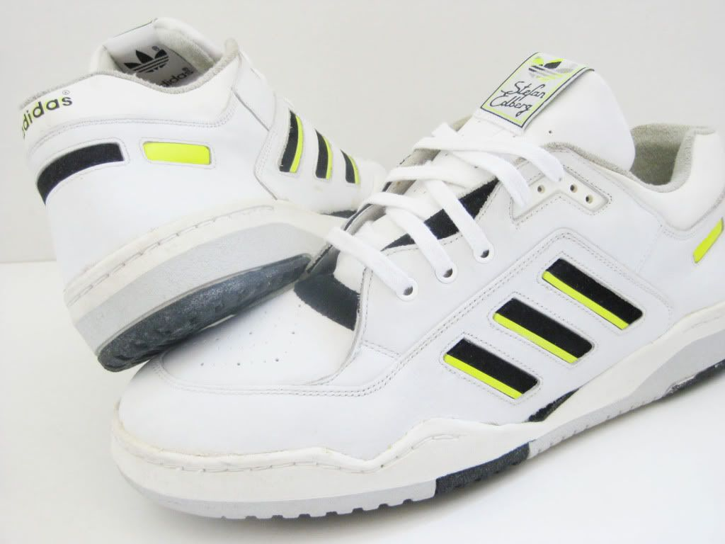 d722b3c9122 Classic Adidas Stefan Edberg tennis shoes. I wore these  -)!