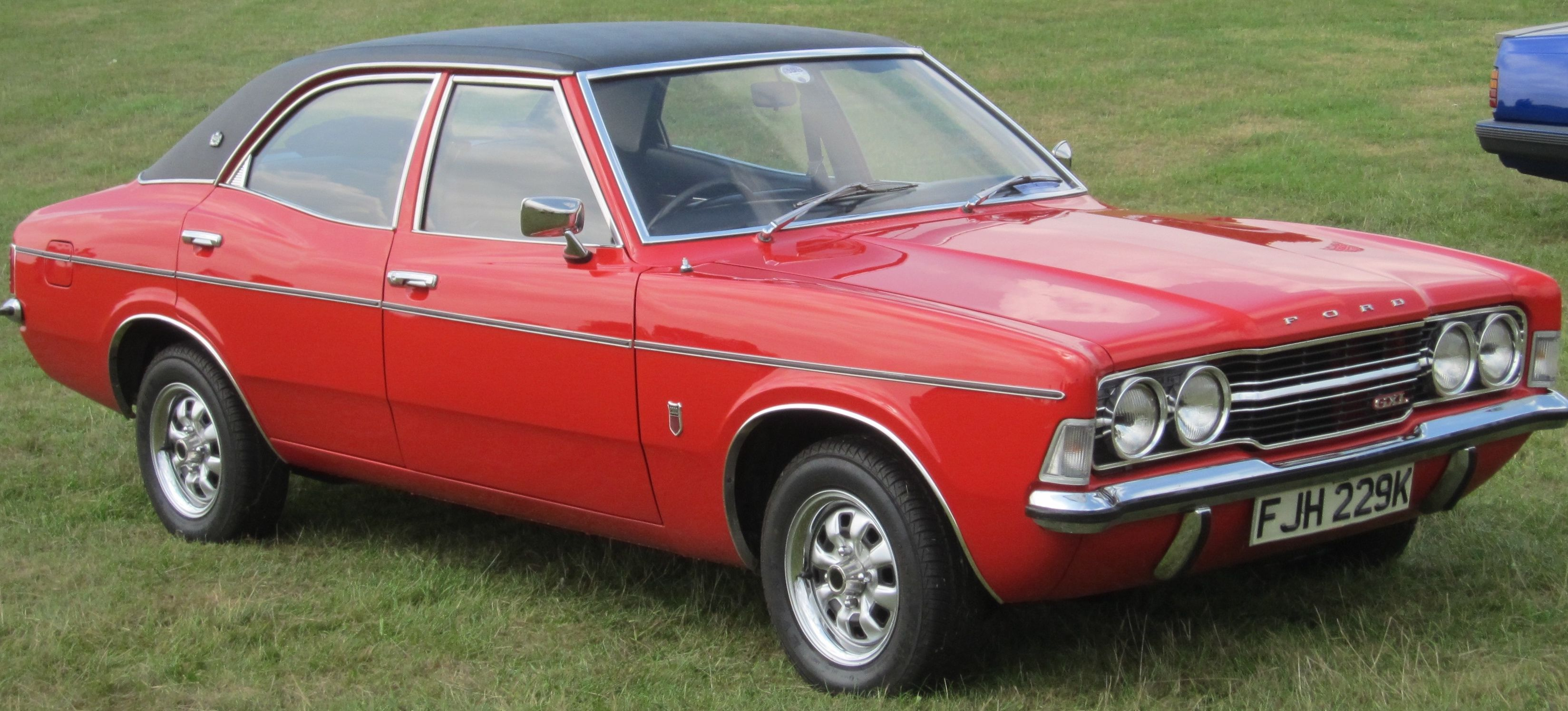 1972 Mk 3 Ford Cortina Gxl Ford Classic Cars Ford Old School Cars