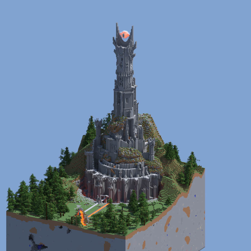 I heard you guys liked renders and LOTR Minecraft