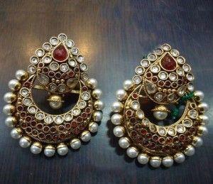 Pin by Snehalata Mitra on Earrings Pinterest