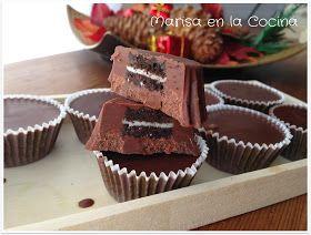 Marisa en la Cocina: Turrón de Chocolate con Oreos