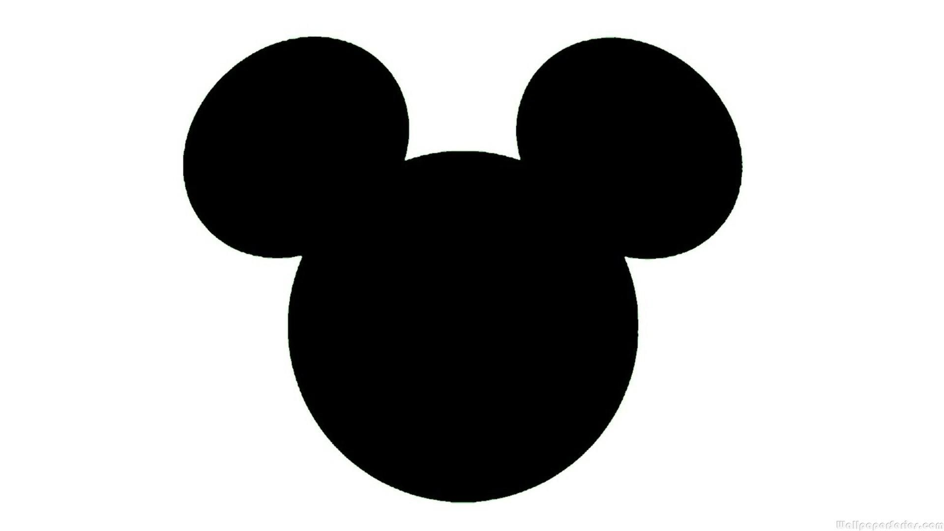 Free Download Mickey Mouse Head Silhouette Hd Wallpaper ...
