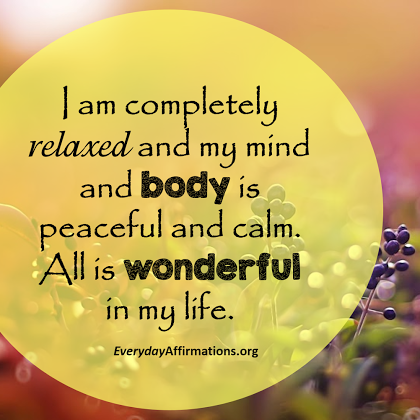 Daily Affirmations 3 February 2017