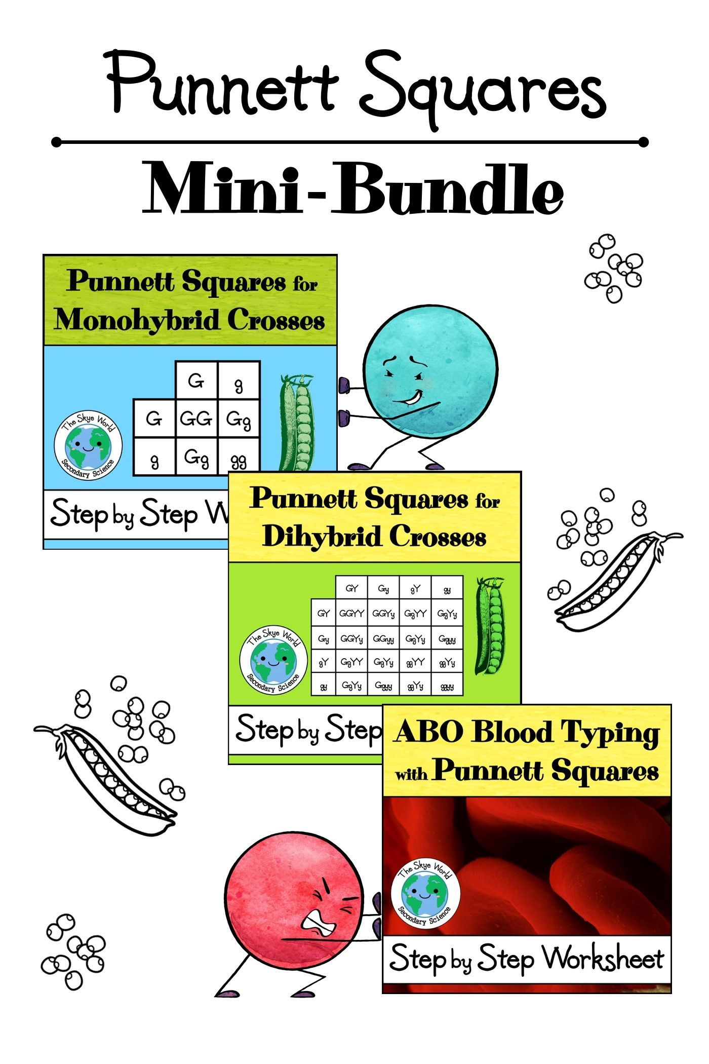 Punnett Squares Mini Bundle
