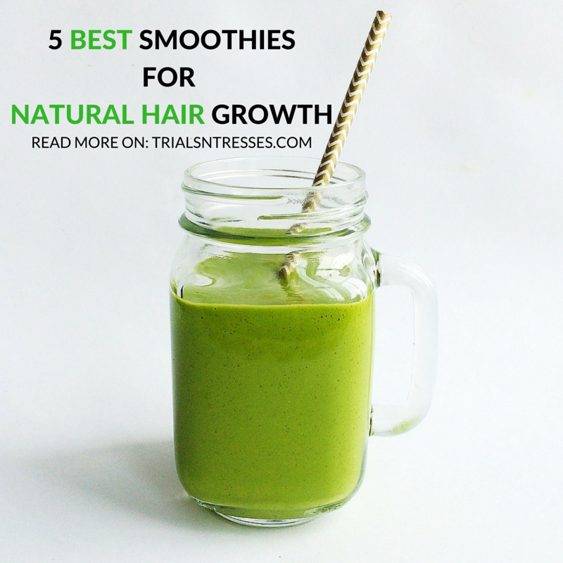 5 best smoothies for natural hair growth natural hair growth healthy hair growth forumfinder Choice Image