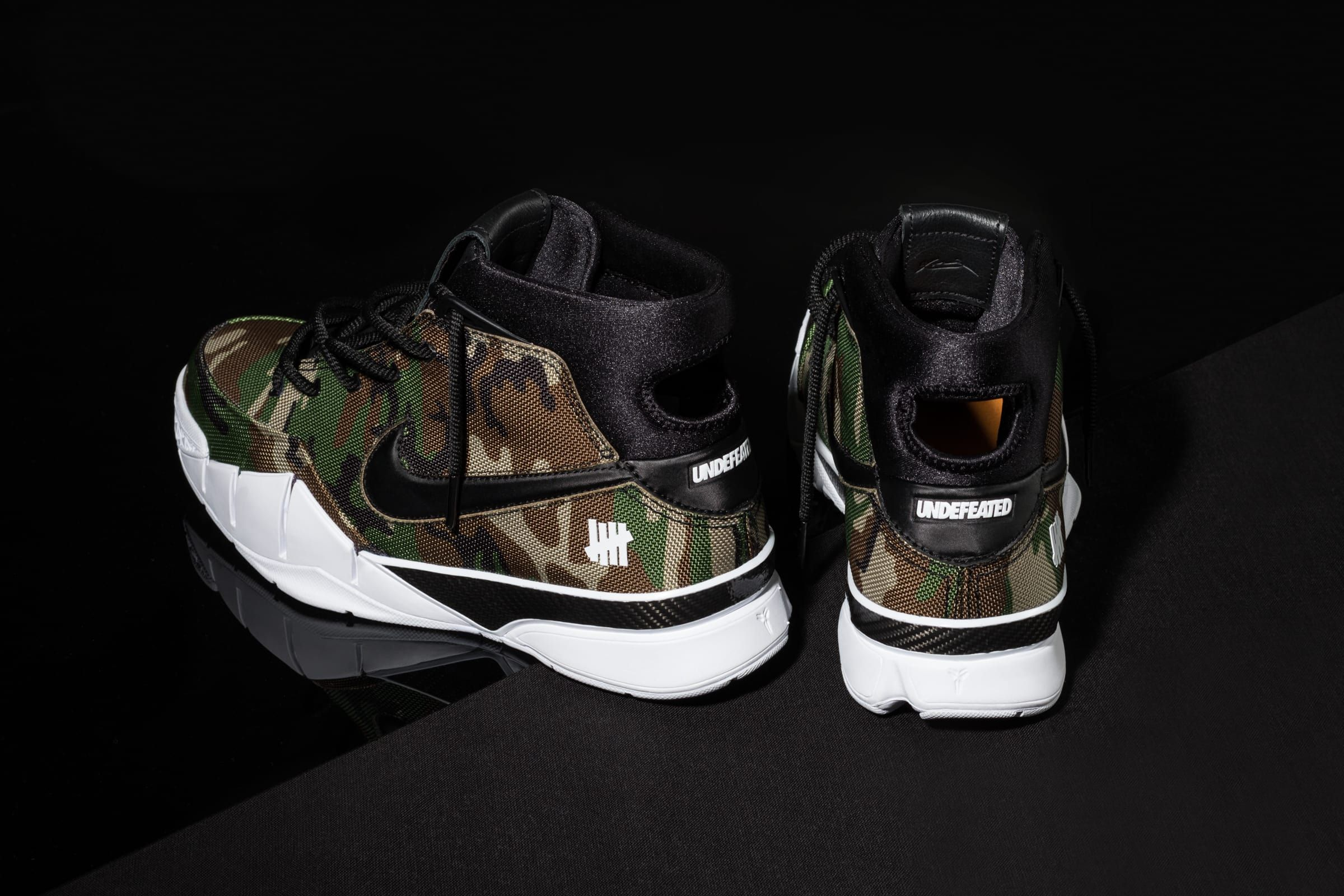 best service 18a8a 287d9 Undefeated x Nike Kobe 1 Protro  Camo  4