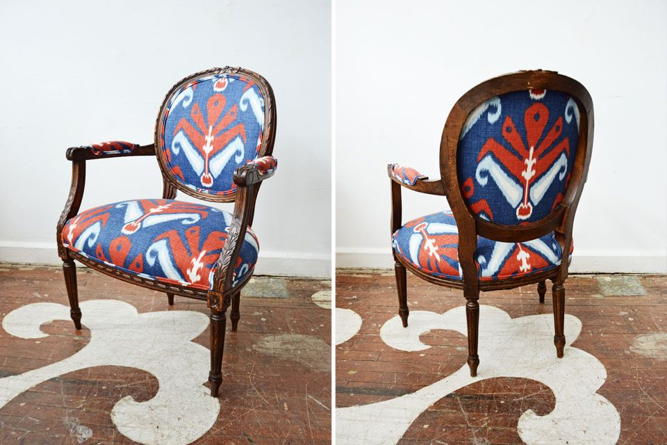 Red White And Blue Fabrics Chair Accent Chairs Duralee