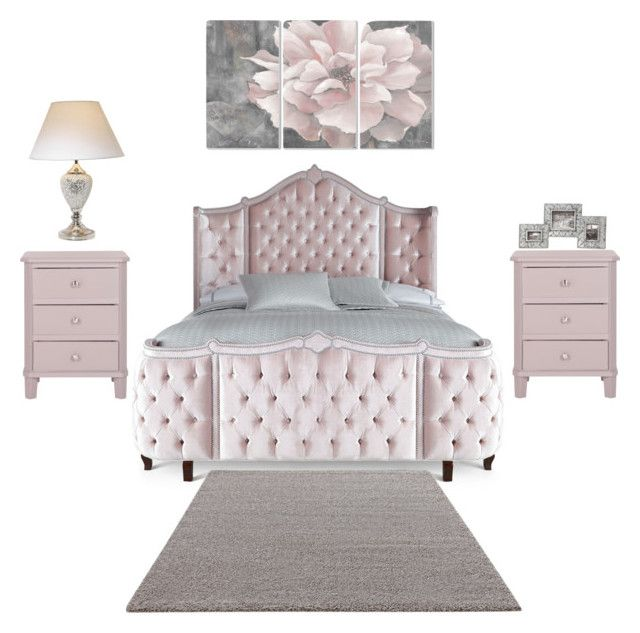 """""""Flawless"""" by diag-87 on Polyvore featuring interior, interiors, interior design, home, home decor, interior decorating, Haute House, ESPRIT, Stupell and bedroom"""