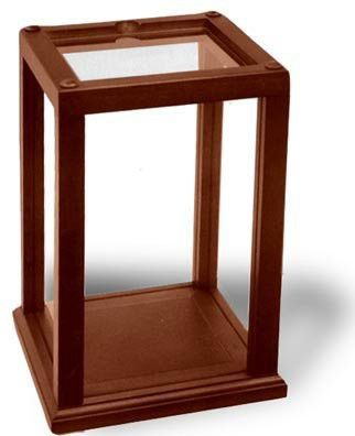 Wood Trimmed Display Case Holds And Protects Collectibles And Dolls Display Case Doll Display Wood