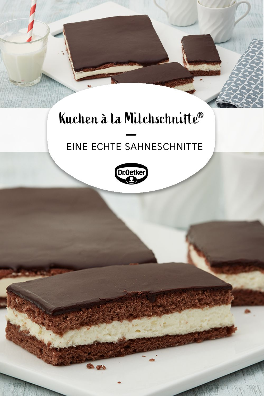 Kuchen à la Milchschnitte