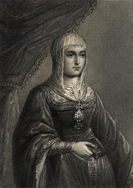 Bridgeman Images | Isabella Of Castile, Royal Family Portrait, Spanish Queen