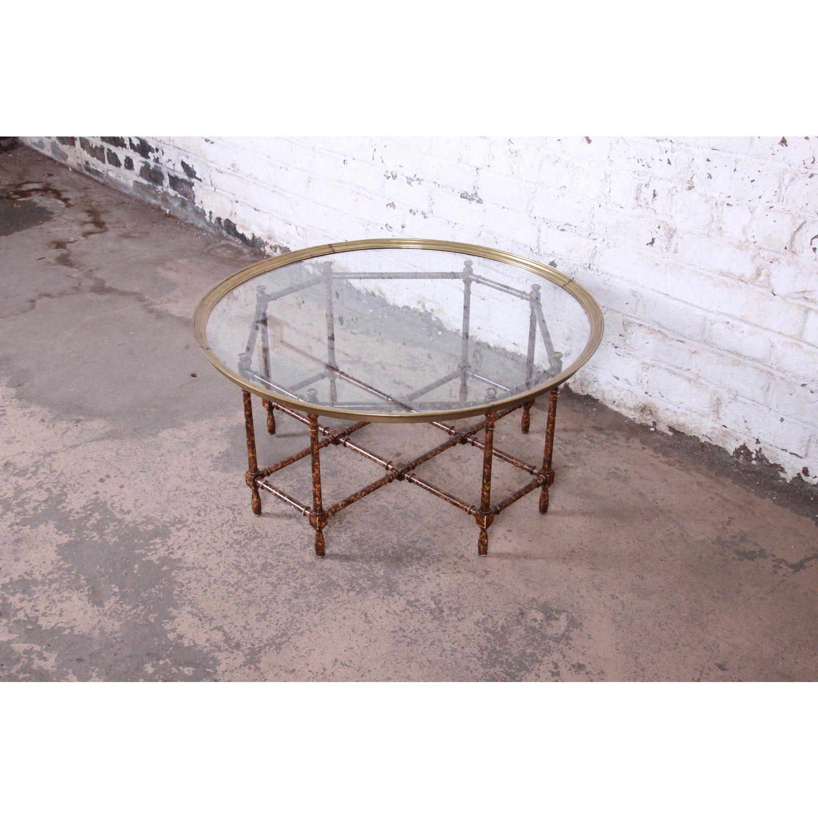 Paris Coffee Table By Thomas Pheasant 7898 Baker Furniture Coffee Table Brass Cocktail Table Brass Coffee Table [ 924 x 1556 Pixel ]
