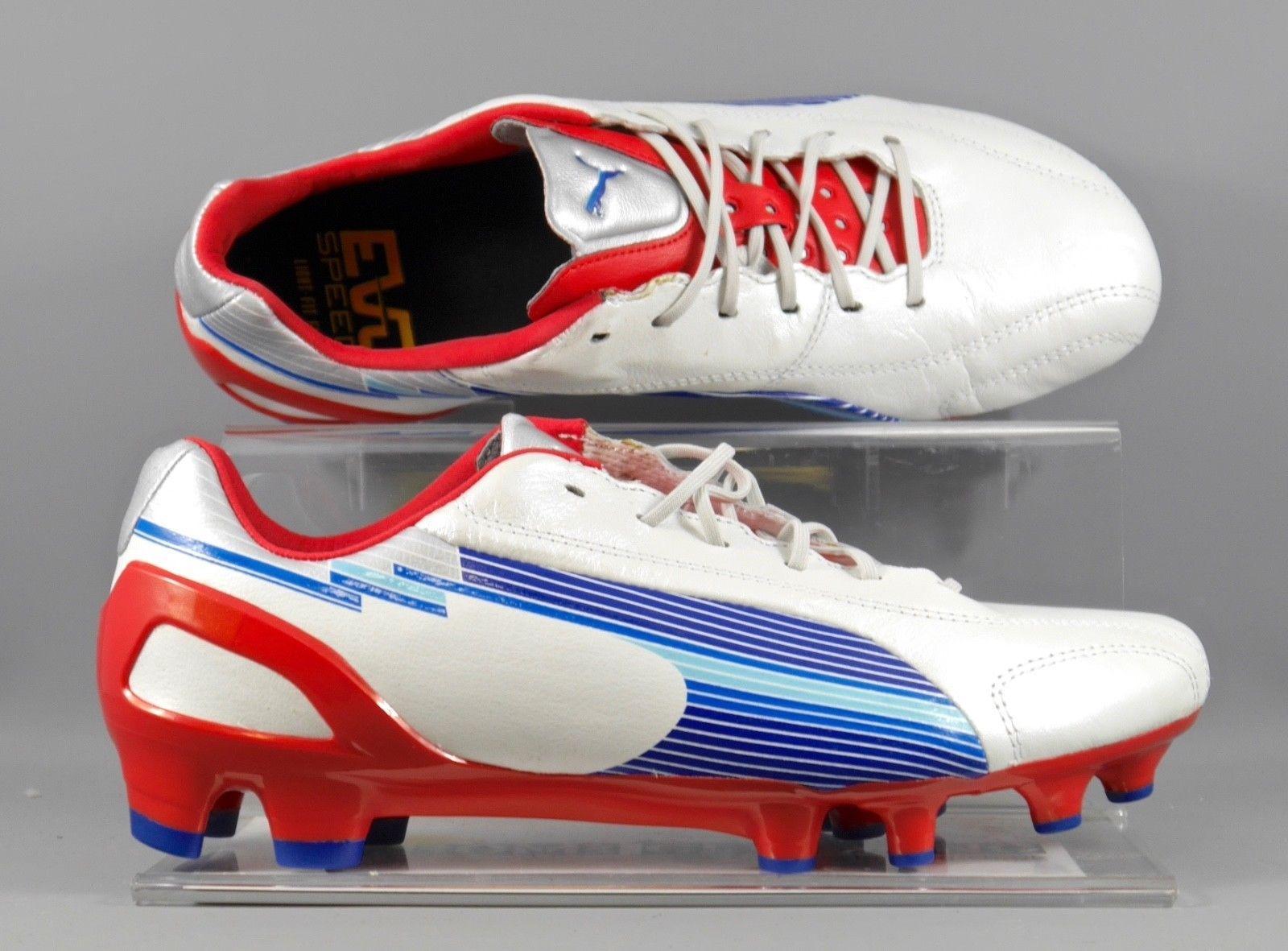 3545b3266 102525-01 Puma EvoSpeed 1 K FG , kangaroo leather firm ground football boot.