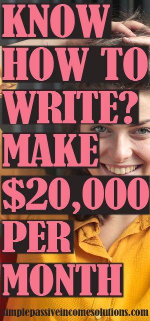 SCHREIBEN UND BEZAHLEN SIE MIT DIESER EINFACHEN METHODE!   – HOW TO MAKE MONEY ON PINTEREST