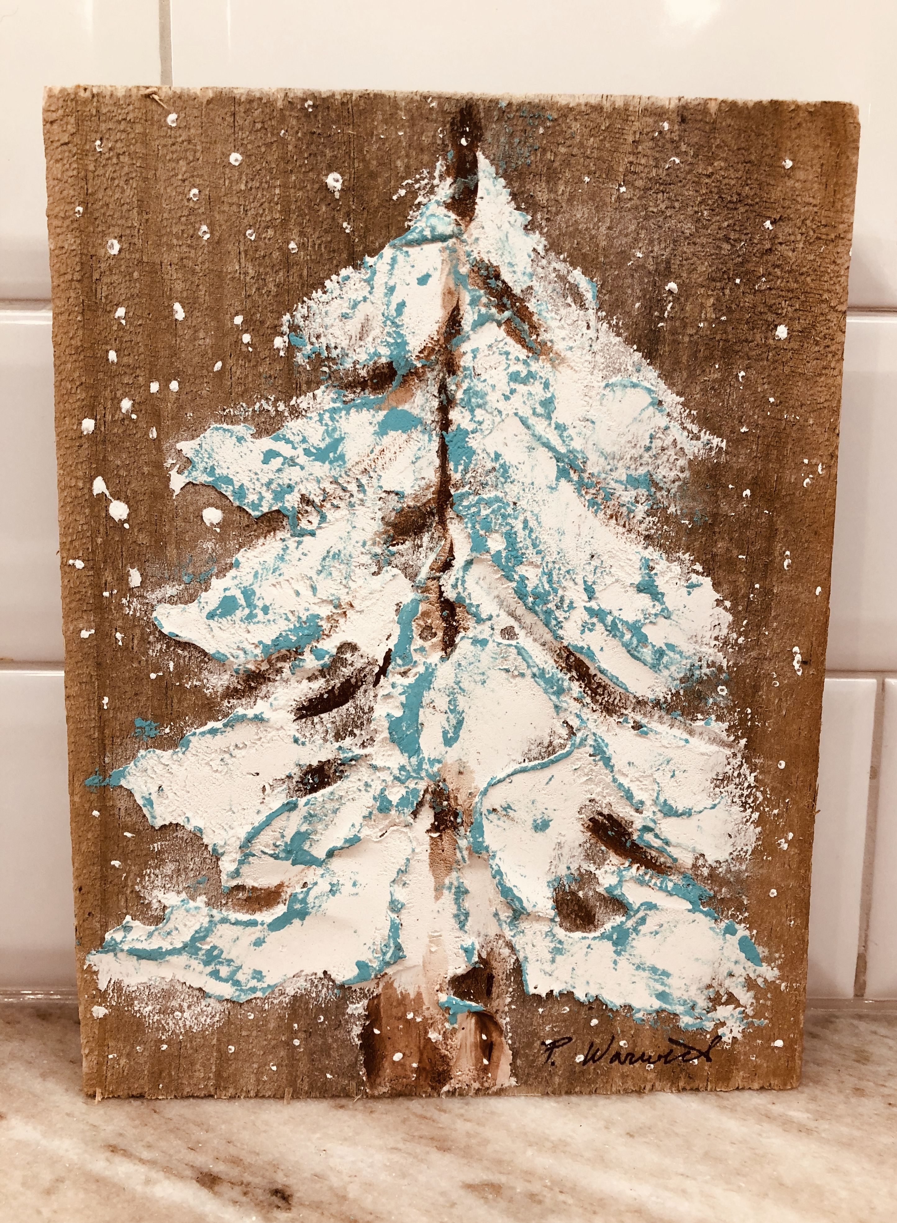 Pin by Phyllis Warwick on Art | Tile art, Painting on wood ...