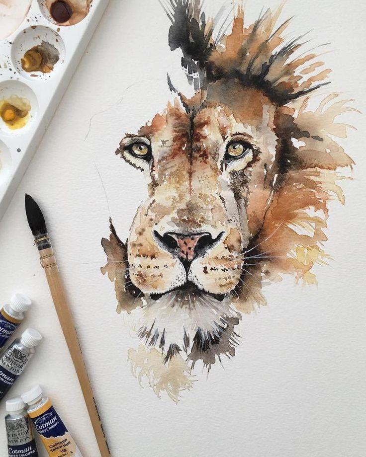 Ilustrações e... - #aquarellmalen #Ilustrações