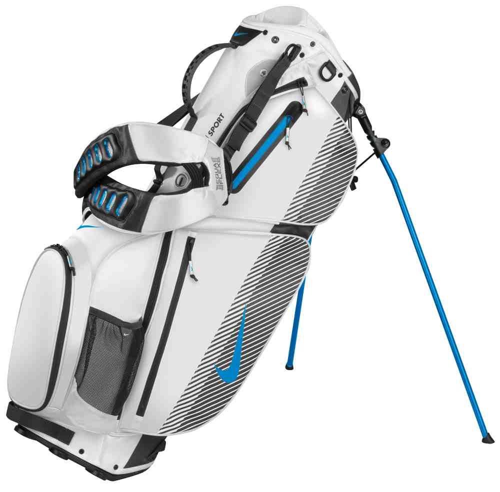White Nike Golf Bag
