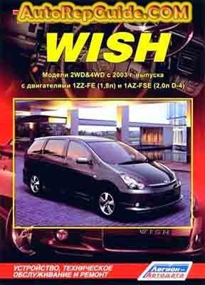 Pin by Kyaw Htike on Manuals | Toyota wish, Repair manuals