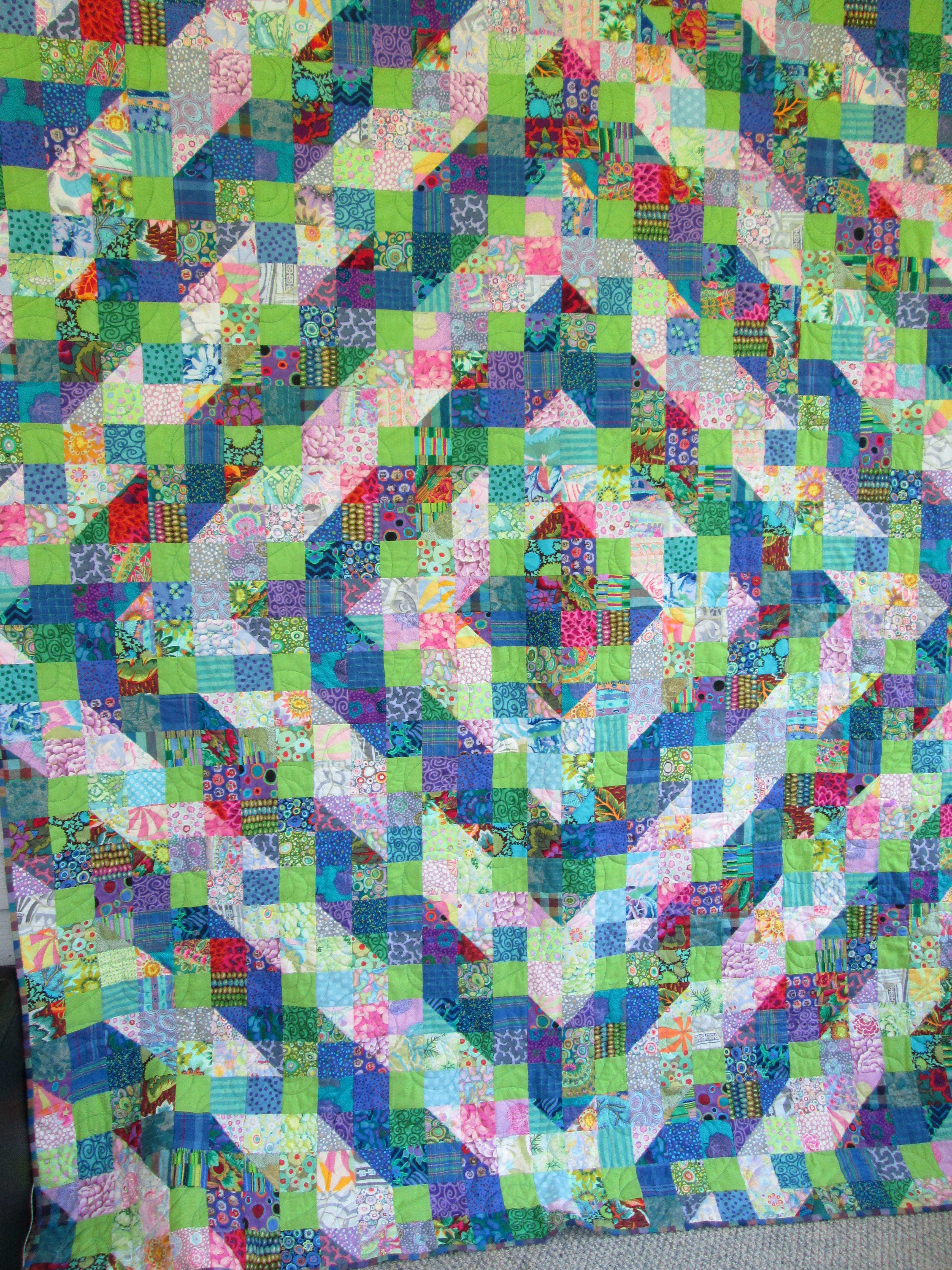 RMM Quilt: Kaffe Fasset Shaded Nine Patch | RMM Quilts (something ...