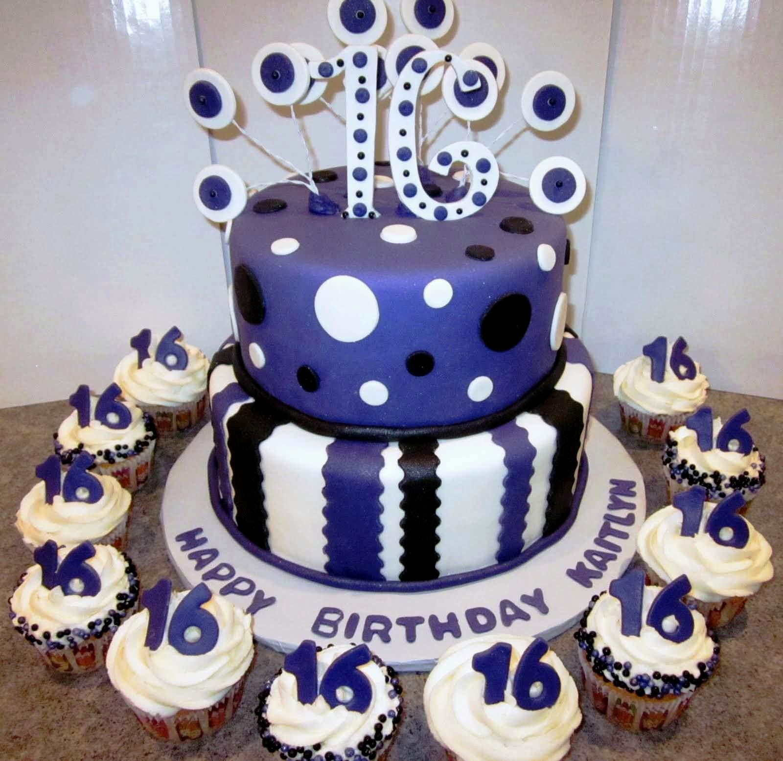 Birthday Cake Ideas 16th Boy