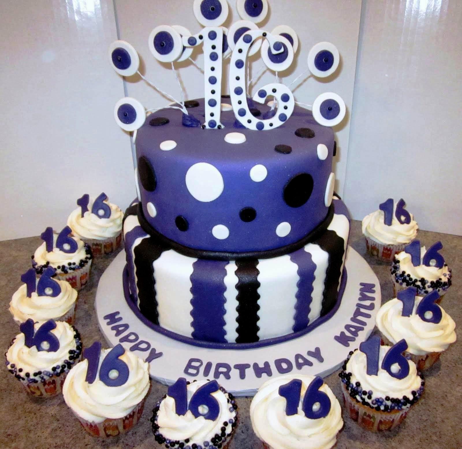 birthday cake ideas 16th boy 16th birthday ideas Pinterest