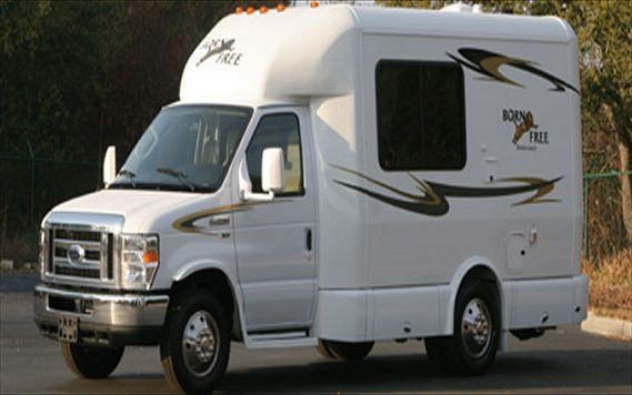 Cool Motor Homes Born Free S 20 Foot Mini Motorhome Specs