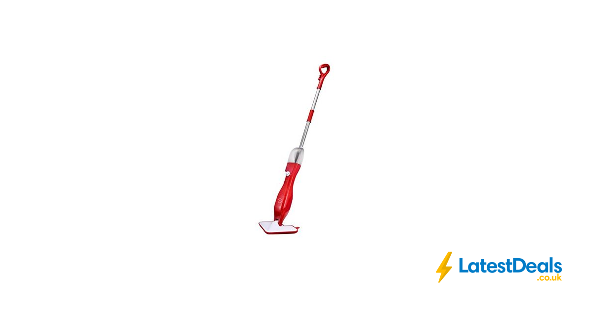 Floor Cleaning Steam Mop 5 in 1 Red £3.95 UK Delivery, £