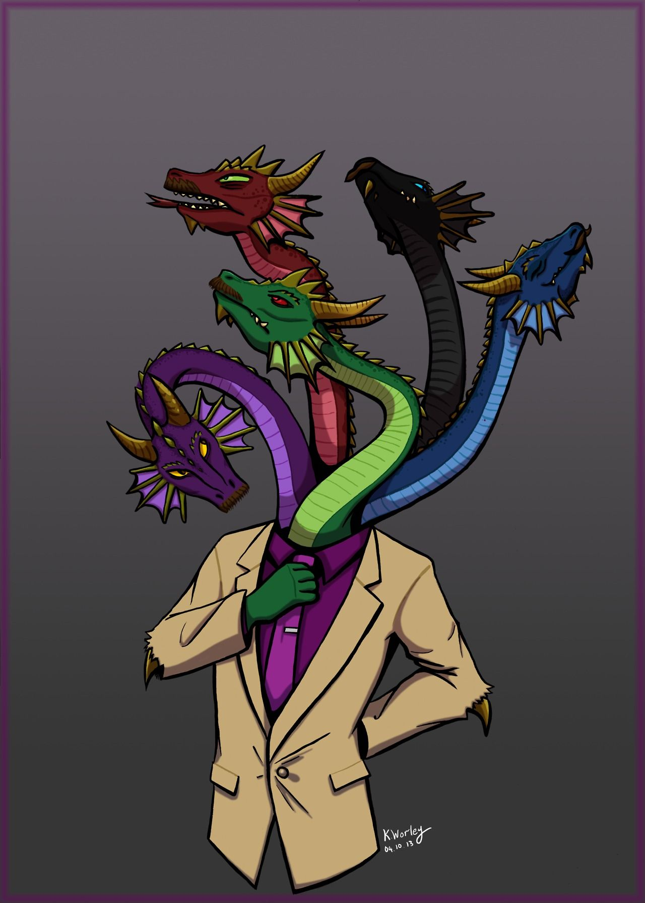 Hyram McDaniels. Literally a five-headed dragon!<< what are you talkin about, that's Frank Chen
