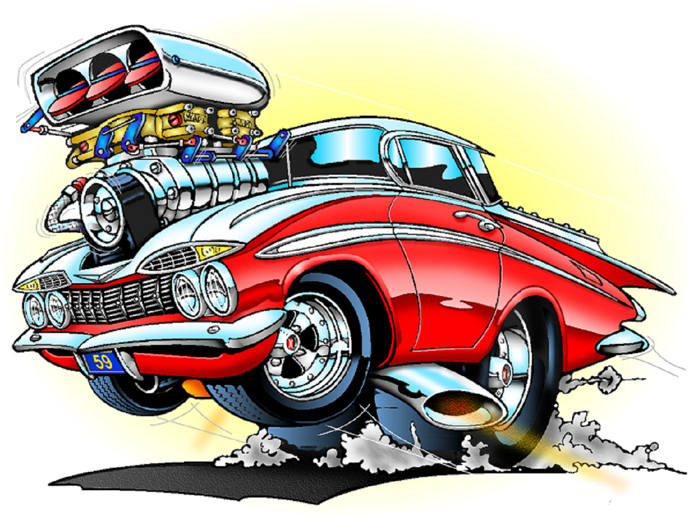 S Muscle Car Cartoon Artists Ed Roth