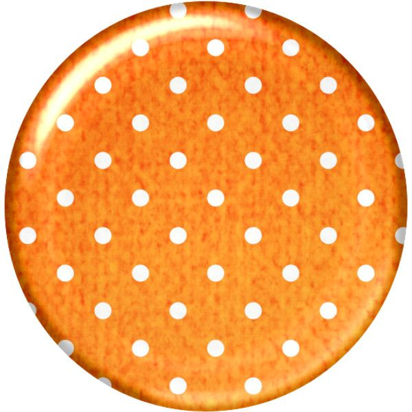 aw_puddle_brad orange.png ❤ liked on Polyvore featuring circles, backgrounds, polka dot and サークルベース