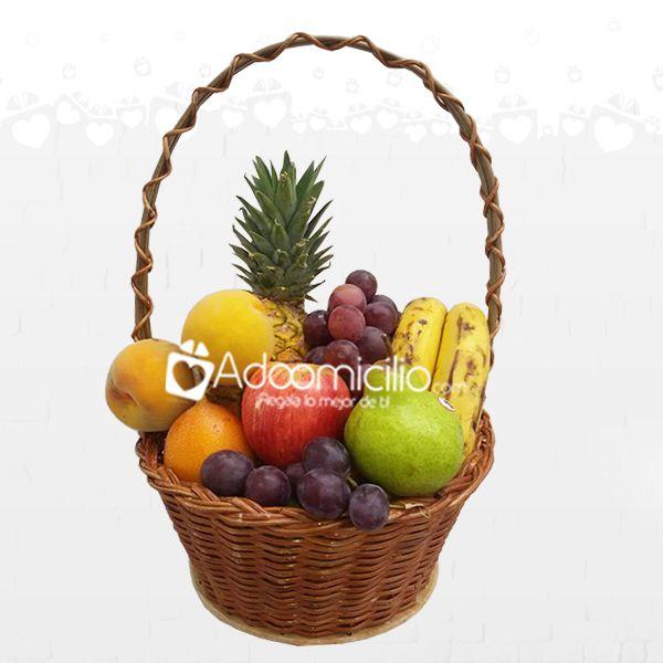 Arreglos Frutales Domicilio En Cali Canasta Frutal Arreglos De Frutas Canasta De Frutas Arreglos Frutales