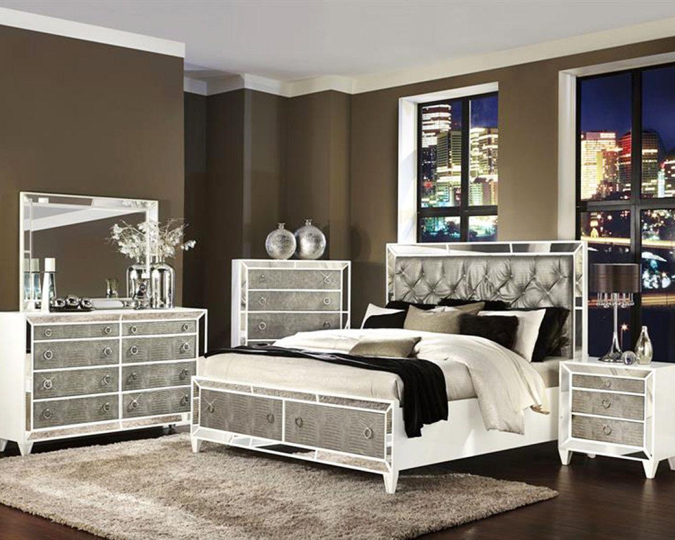 7 Pc Bedroom Set For 199 Las Vegas Full Size Bedroom Furniture Sets Glass Bedroom Set Bedroom Set Luxury Bedroom Sets