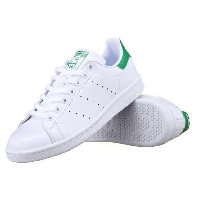 Basket Adidas Stan Smith B24105 Blanc/vert - Taille : 38;38 ...