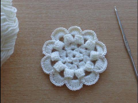 уроки вязания крючком цветов