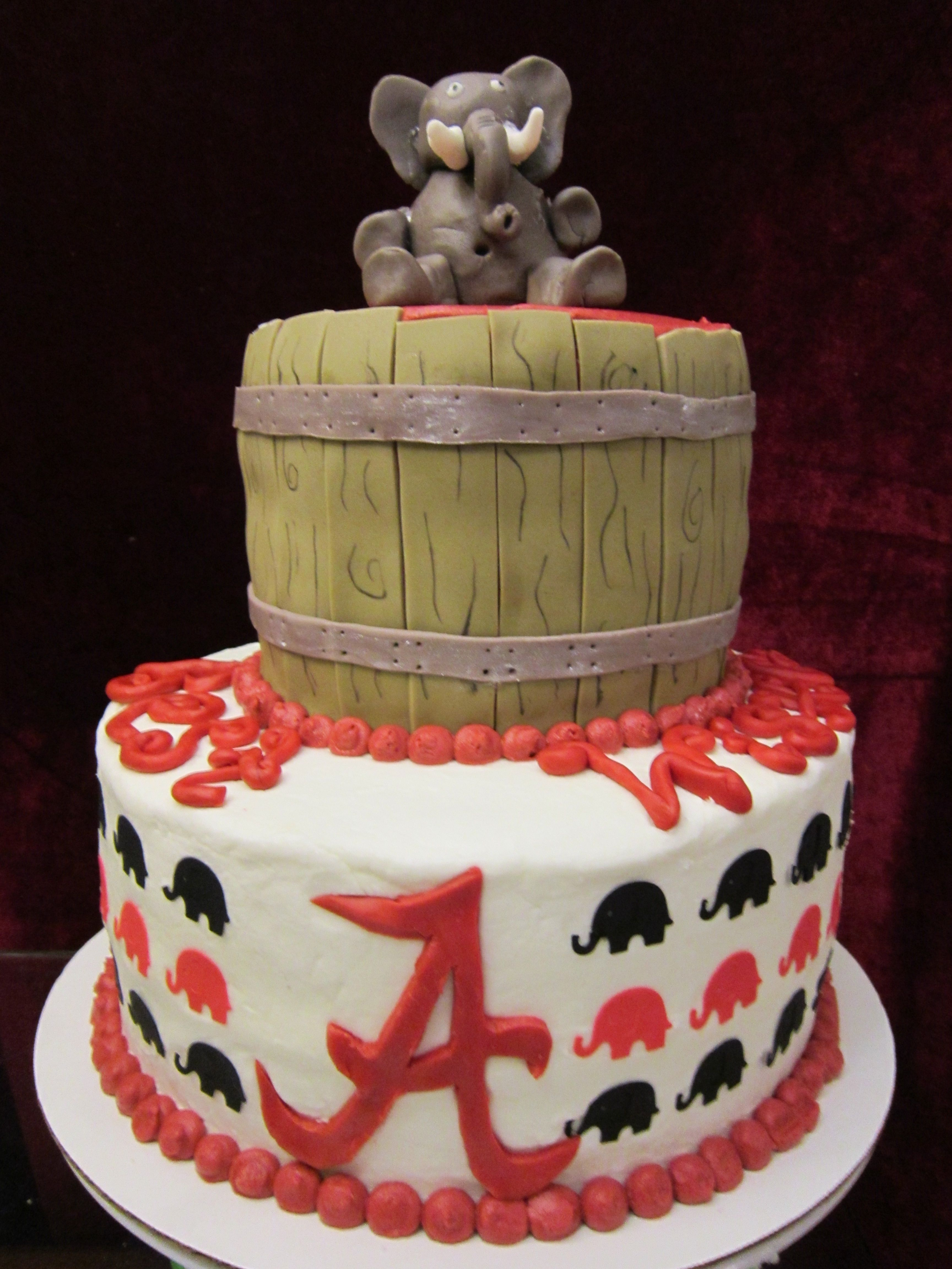 Alabama Cracker Barrel Cake Made For A Lady Transferring To The