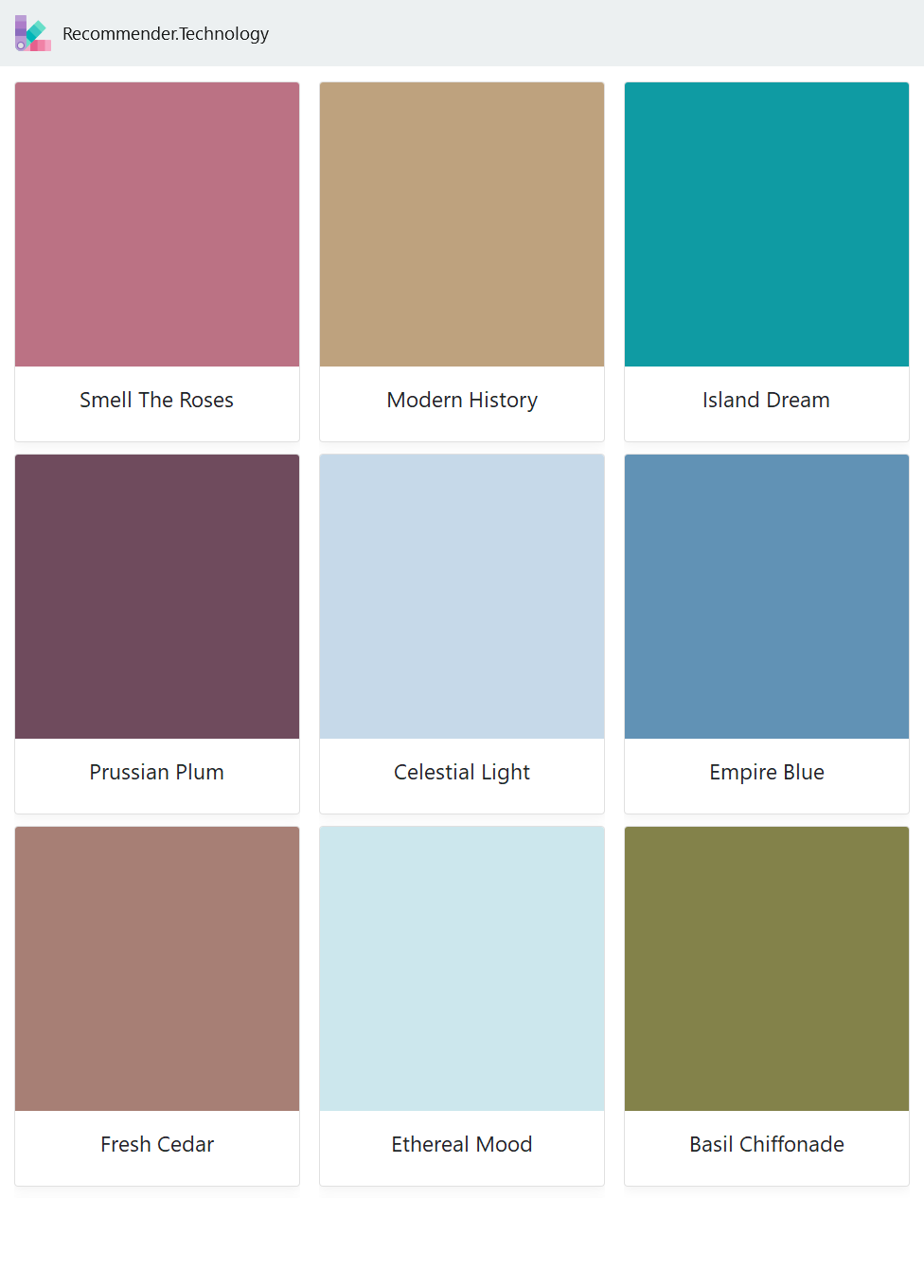 Smell The Roses Prussian Plum Fresh Cedar Modern History Celestial Light Ethereal Mood Island Dream Empi Behr Paint Colors Painting Paint Color Palettes [ 1360 x 976 Pixel ]