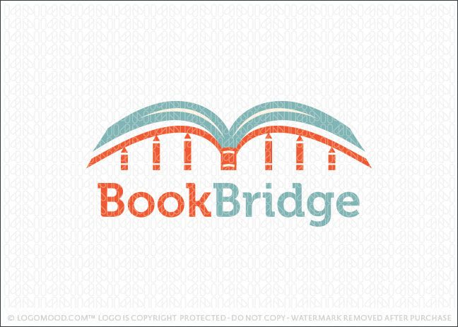 Book Bridge Learning With Images Book Logo Brand Book