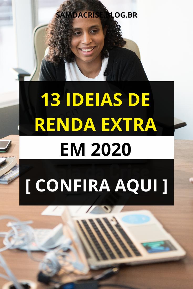 13 Ideias de Renda Extra em 2020 [ Confira Aqui ]