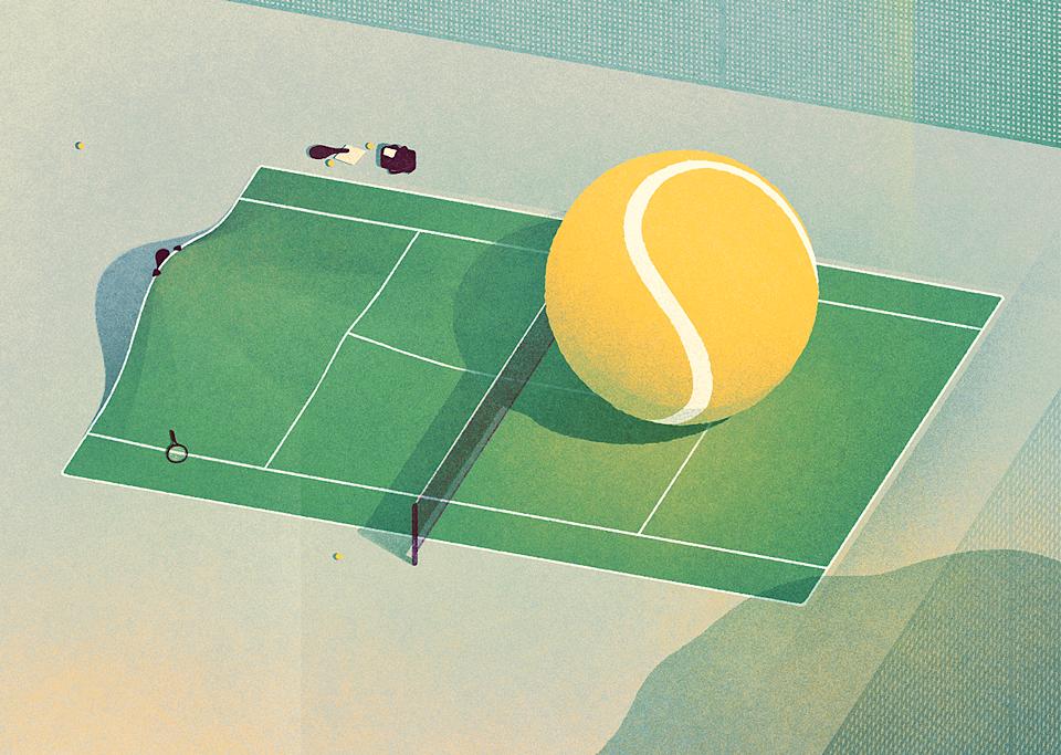 Tennis on Behance