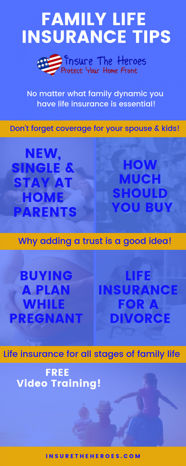 Family Life Insurance Tips For All Stages Each Family Is Unique