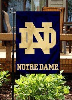 Attirant University Of Notre Dame Garden Flag
