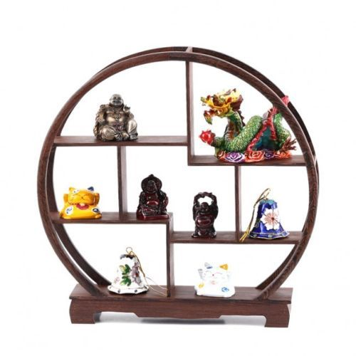 petit meuble chinois rangement figurines et miniatures decoration asiatique objets deco. Black Bedroom Furniture Sets. Home Design Ideas