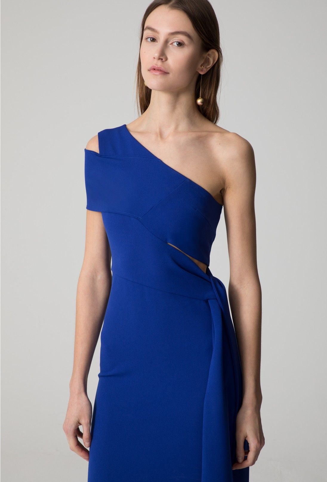 eee82a27e0 Lolita One Shoulder Midi Dress - Blue-UK 4 in 2019 | Bridal Luncheon ...
